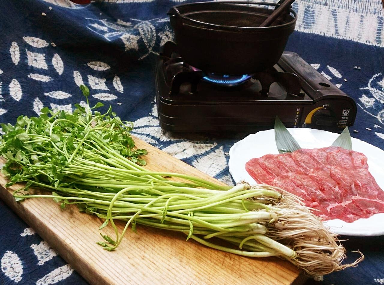 牛たんせり鍋
